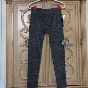 French Laundry soft lined grey leggings NWT osfa